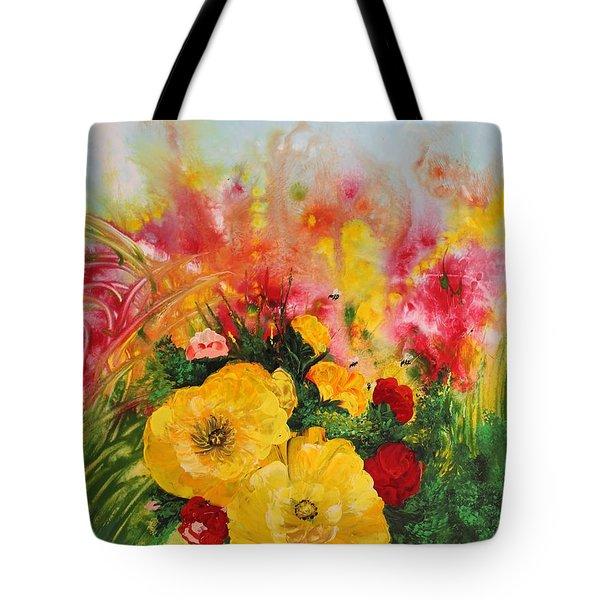 Acrylic Msc 218 Tote Bag