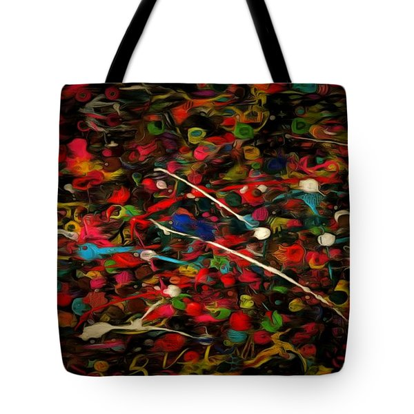 Acrylic Paint Tote Bag by Anton Kalinichev