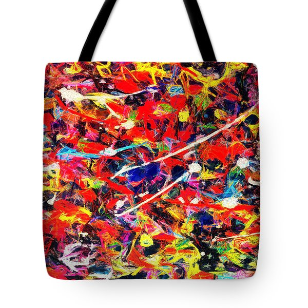 Acrylic Plaster Tote Bag by Anton Kalinichev