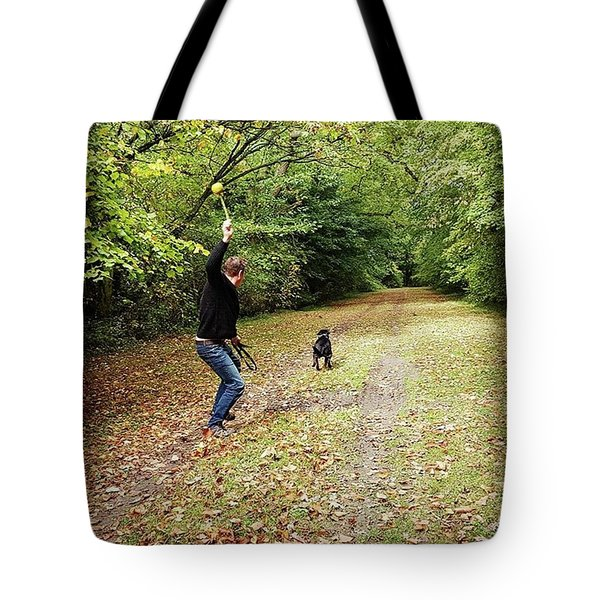 Sunday Walk Tote Bag