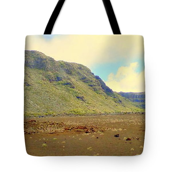 Active Volcano Tote Bag