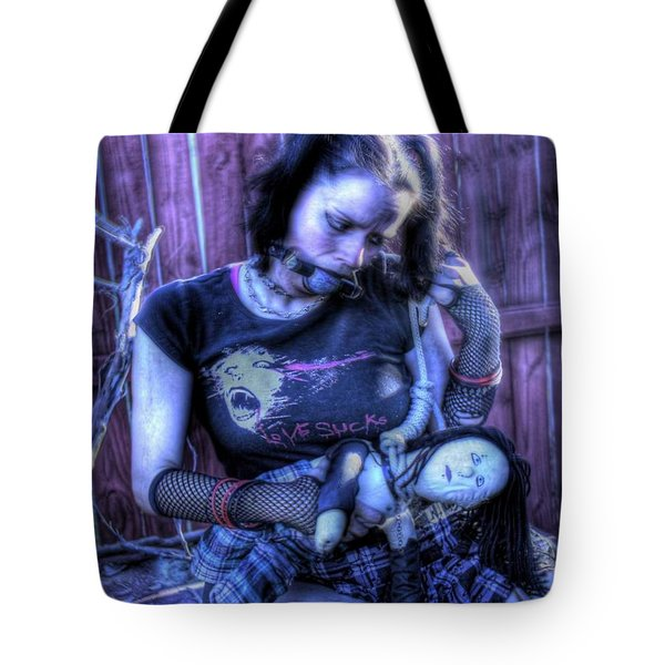 Actively Dying Tote Bag by Matt Nelson