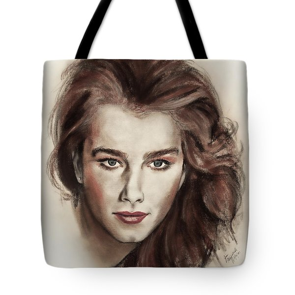 Actress And Model Brooke Shields Tote Bag
