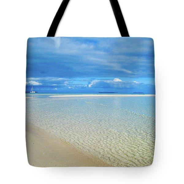 Adagio Alone In Ouvea, South Pacific Tote Bag