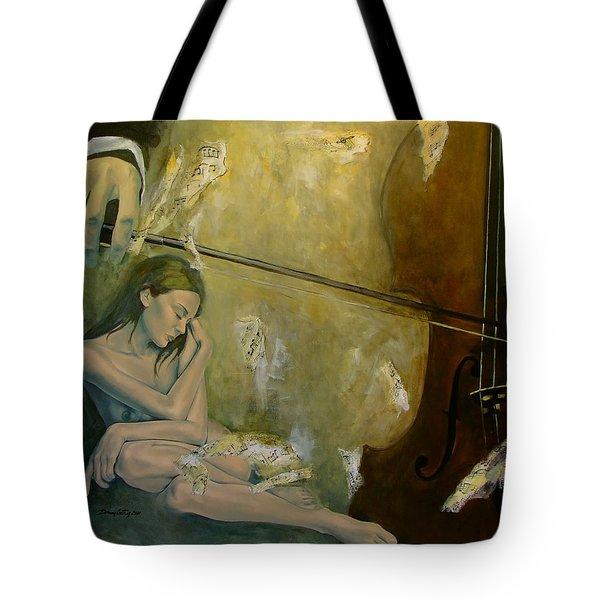 Adagio  Sentimental Confusion Tote Bag by Dorina  Costras