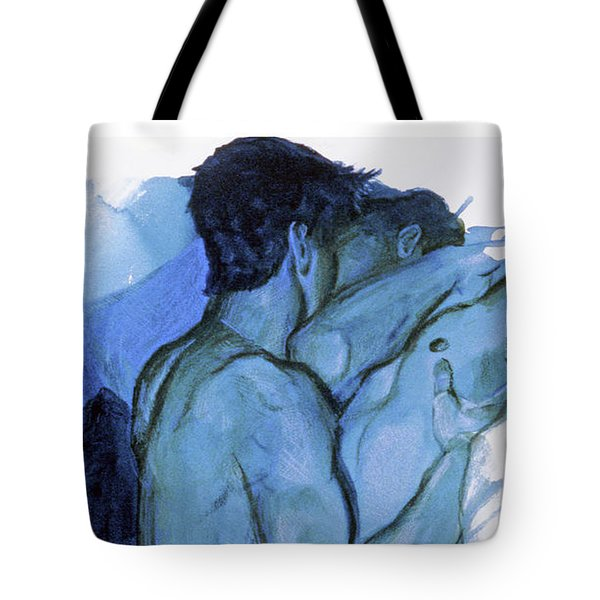 Tote Bag featuring the painting Adajio  by Rene Capone