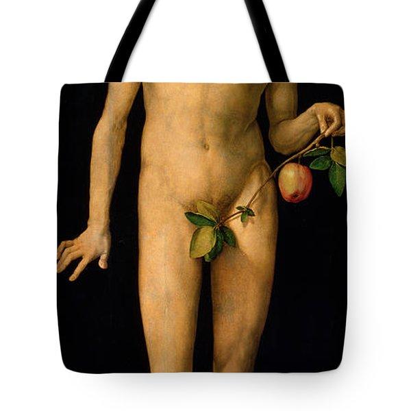 Adam Tote Bag by Albrecht Duerer