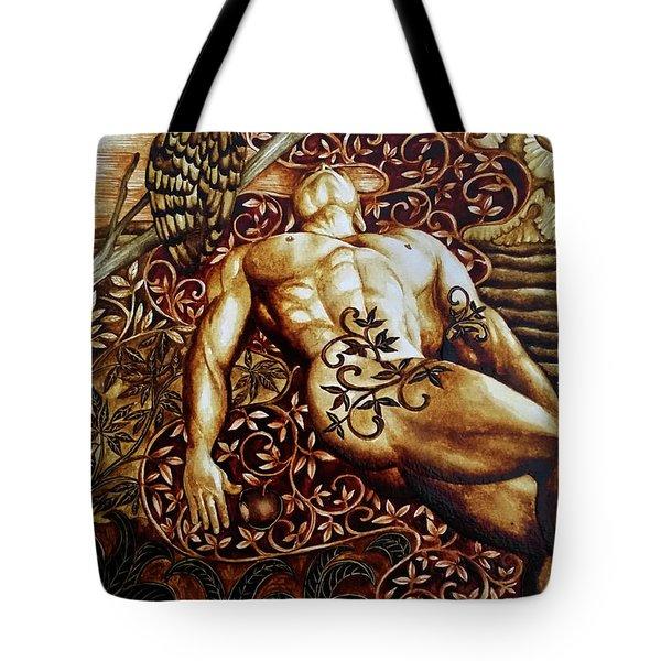 Adam Down Adam Down Tote Bag