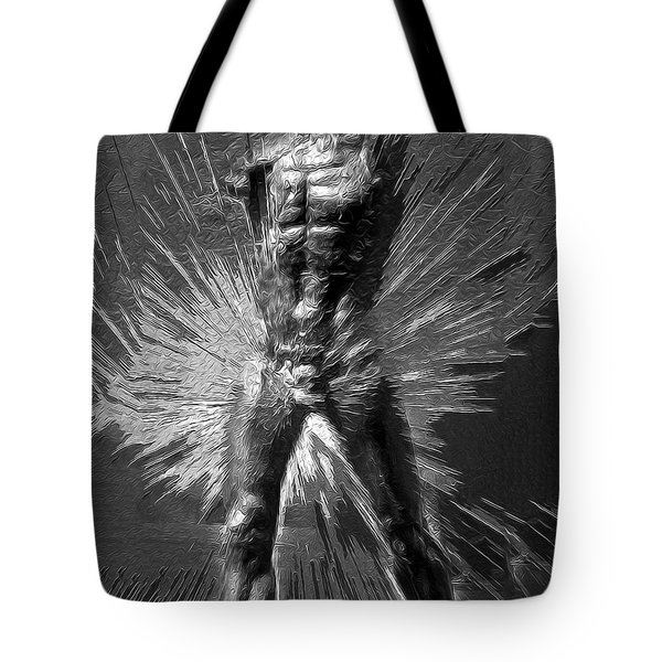 Adam Unfinished Tote Bag