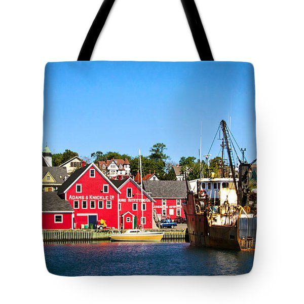 Adams And Knickle Fishing Company Tote Bag