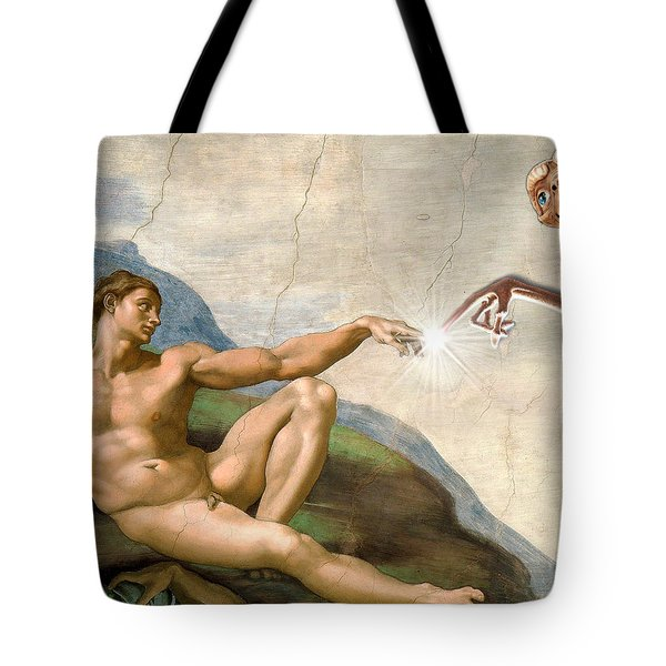 Adam's Creation Vrs Et Tote Bag by Gina Dsgn