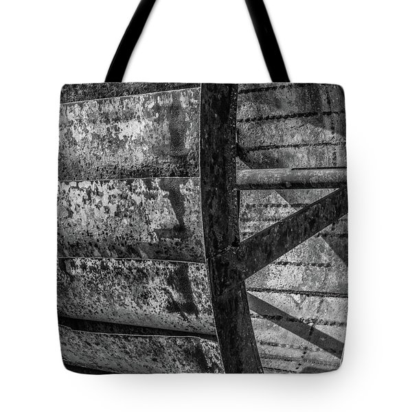 Tote Bag featuring the photograph Adam's Mill Water Wheel by Melissa Lane