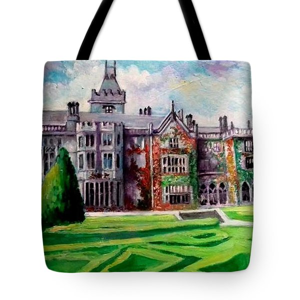 Adare Manor Co Limerck Ireland Tote Bag