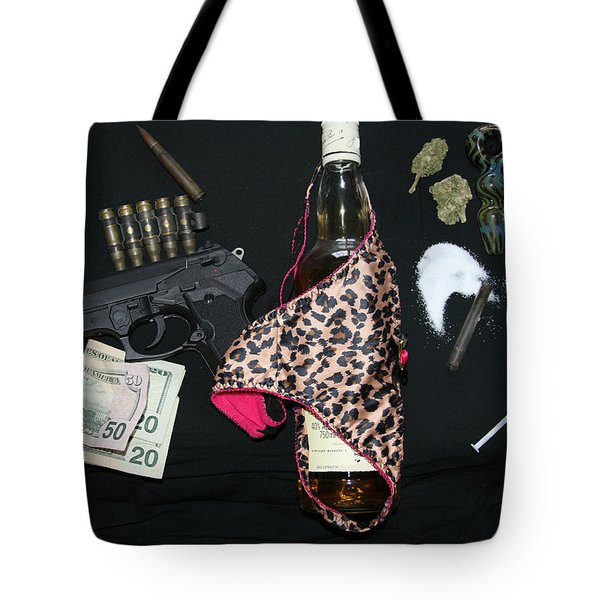 Addicted To Death Tote Bag