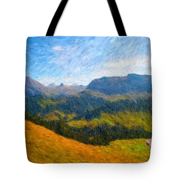 Adelboden Countryside Tote Bag by Gerhardt Isringhaus