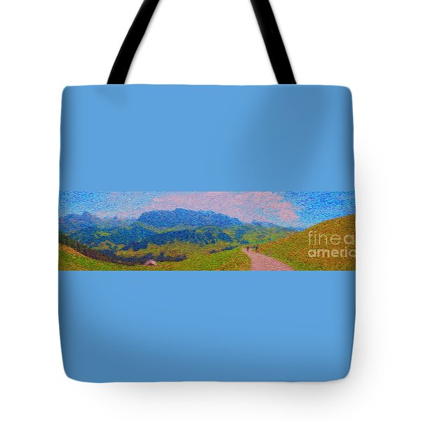 Adelboden Panoramic Tote Bag by Gerhardt Isringhaus