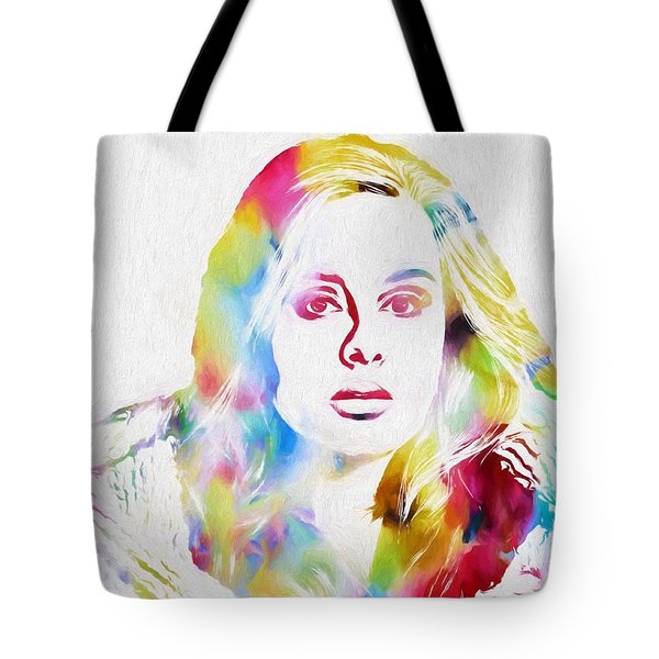 Adele Tote Bag by Dan Sproul