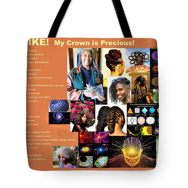 Adenike My Crown Is Precious Tote Bag