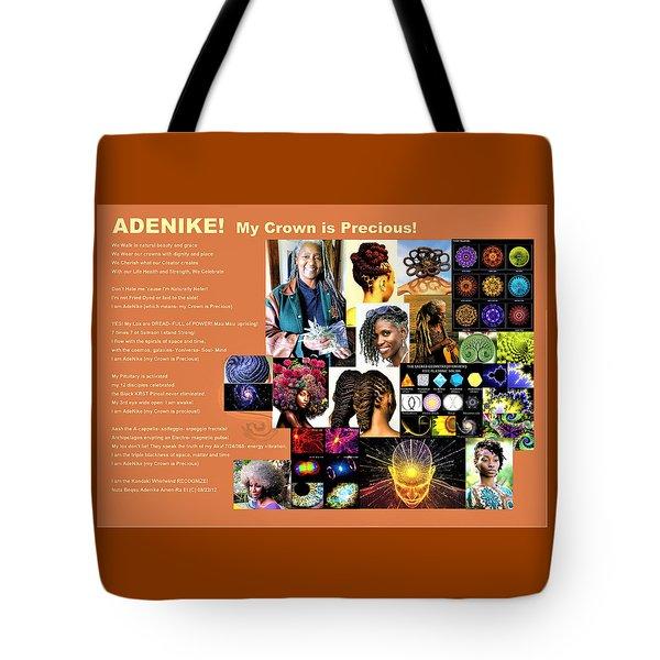 Adenike My Crown Is Precious Tote Bag