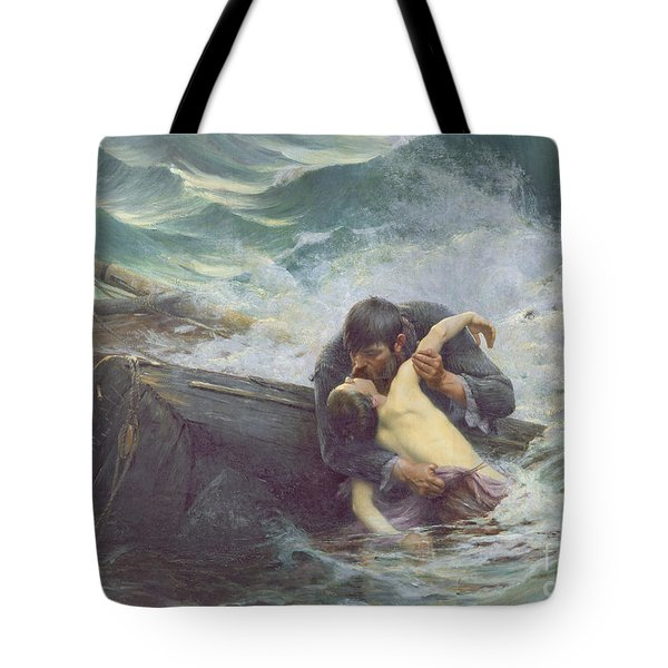 Adieu Tote Bag by Alfred Guillou