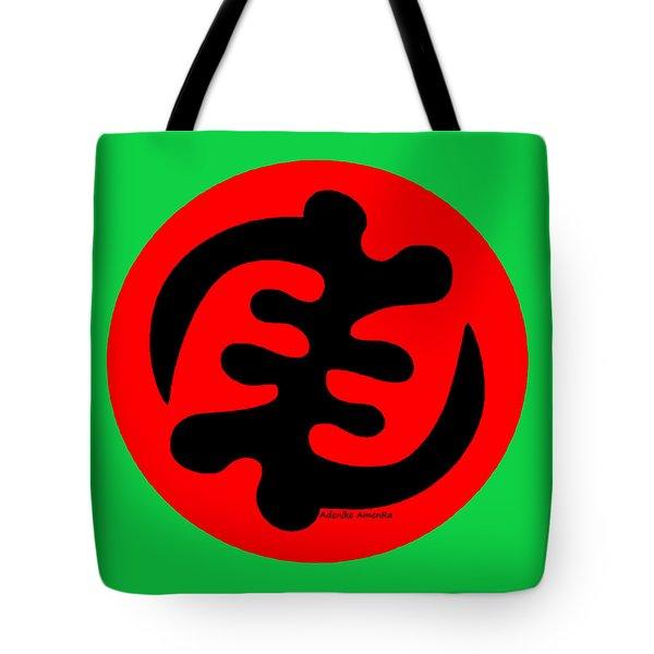 Adinkra Symbol Gye Nyame Except God Only God Tote Bag