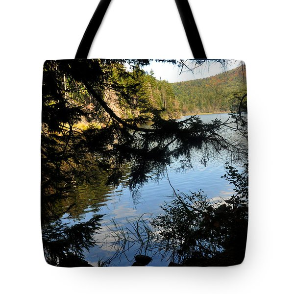Adirondack Lake Tote Bag