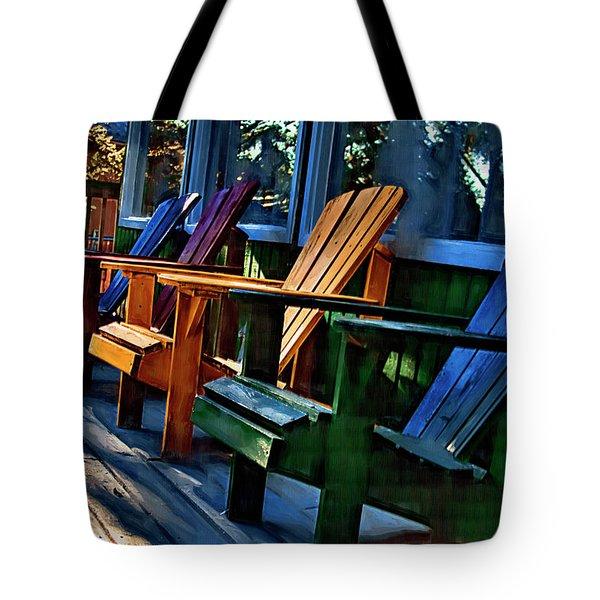 Adirondack Tote Bag