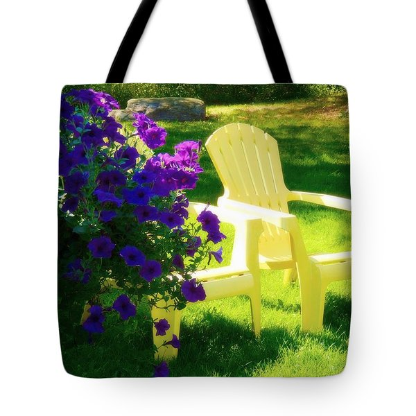 Adirondack Summer Days Tote Bag