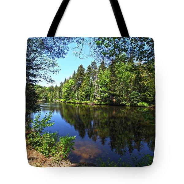Adirondack Waters Tote Bag