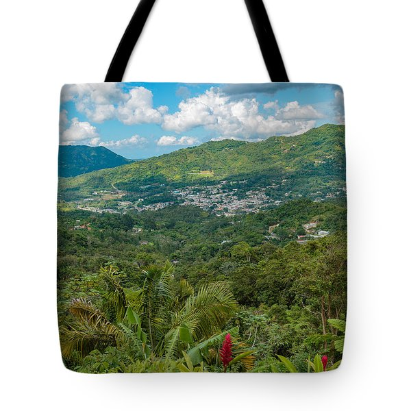 Tote Bag featuring the photograph Adjuntas by Jose Oquendo