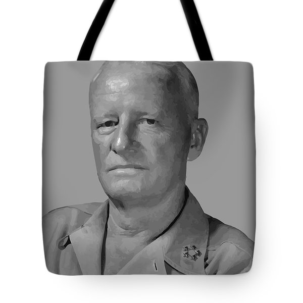Admiral Chester Nimitz Tote Bag by War Is Hell Store