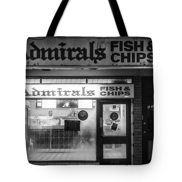 Admirals Fish And Chips Tote Bag