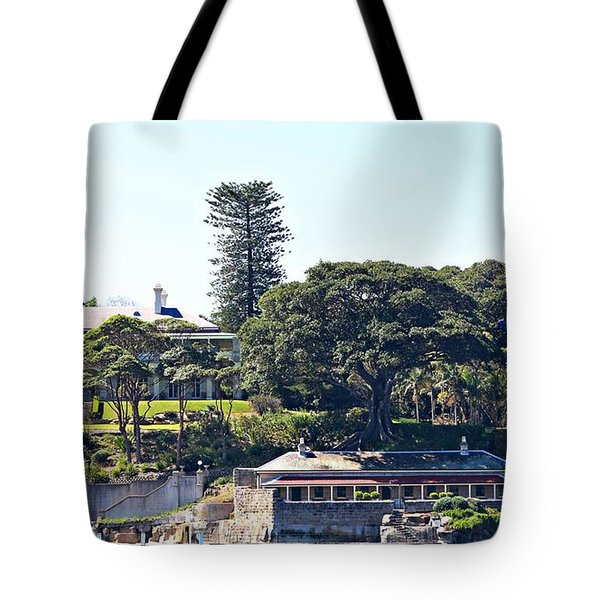 Tote Bag featuring the photograph Admiralty House by Stephen Mitchell