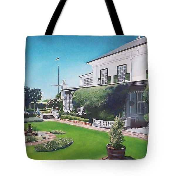 Admiralty House Tote Bag