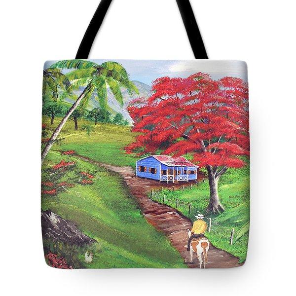 Admirando El Campo Tote Bag