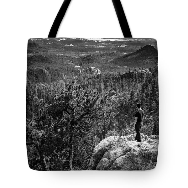 Needles Point South Dakota Tote Bag by Jason Moynihan
