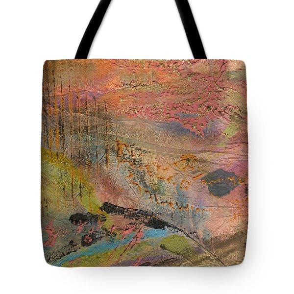 Admiring God's Handiwork II Tote Bag by Angela L Walker