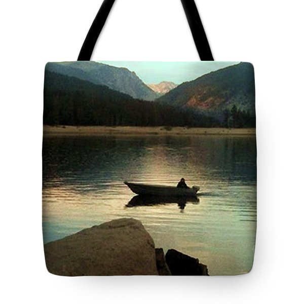Admiring God's Work Tote Bag by Desiree Paquette