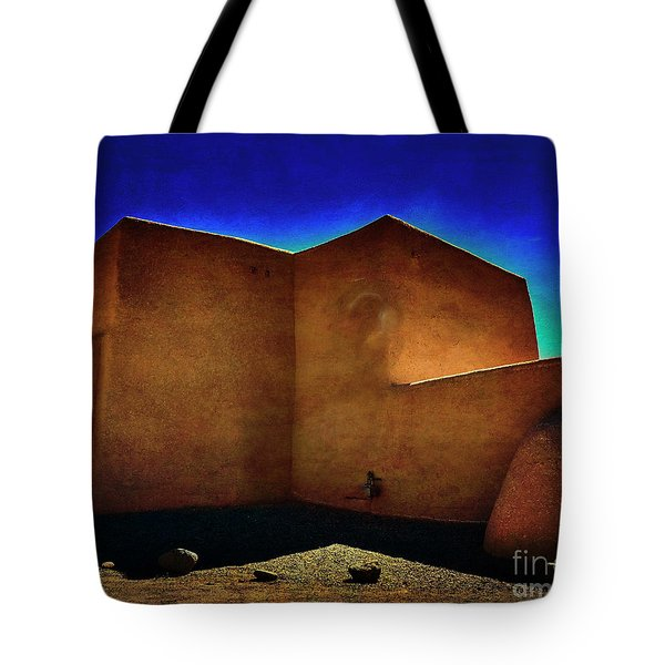 Adobe Church II Tote Bag