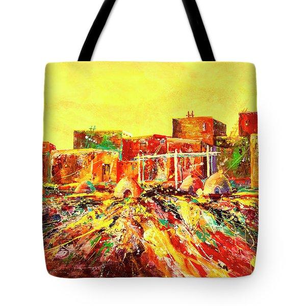 Adobe Color Tote Bag