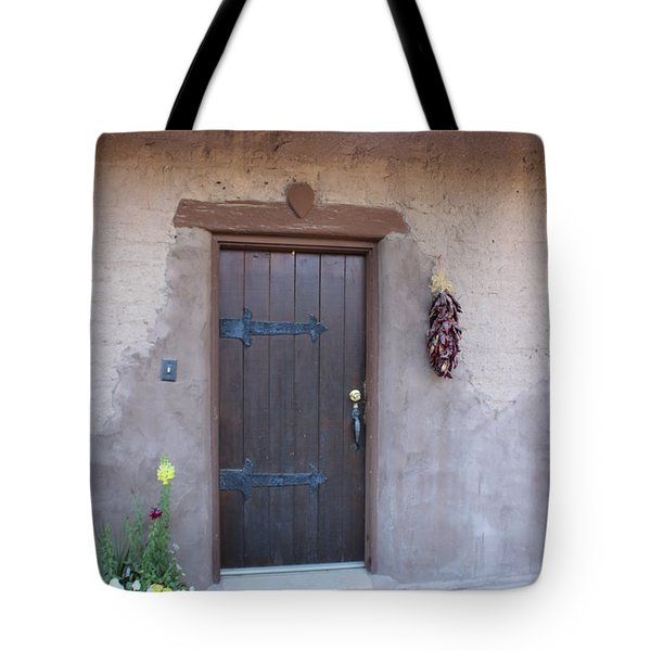 Adobe Door Tote Bag