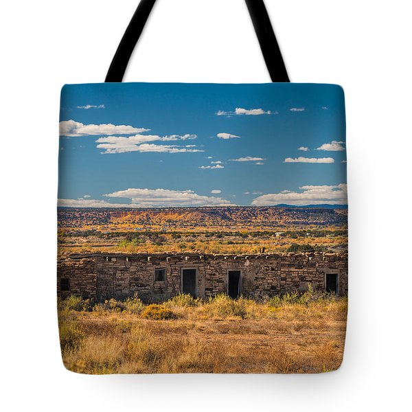 Tote Bag featuring the photograph Adobe House by Kim Wilson