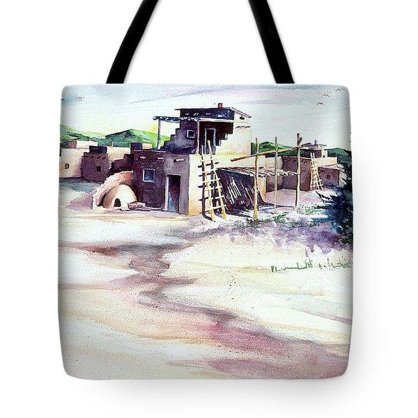 Adobe Pueblo Tote Bag