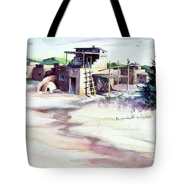 Adobe Pueblo Tote Bag