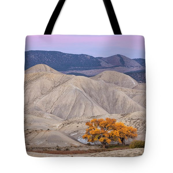 Adobe Sunset Tote Bag