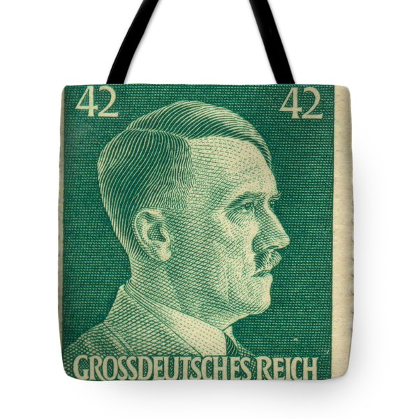 Adolf Hitler 42 Pfennig Stamp Classic Vintage Retro Tote Bag