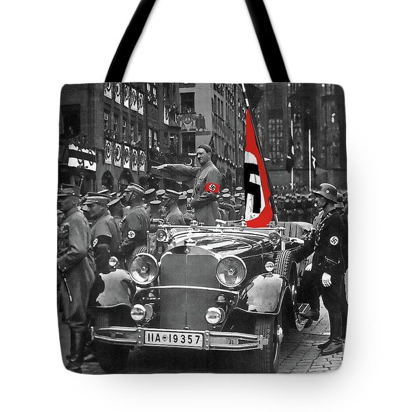 adolf hitler saluting marching troops from a mercedes nuremberg germany 1935 photograph by david. Black Bedroom Furniture Sets. Home Design Ideas