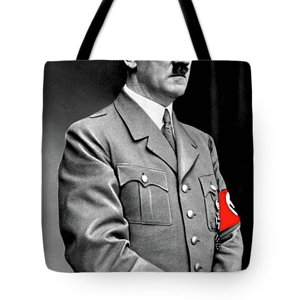 Adolf Hitler The Visionary Circa 1941 Color Added 2016 Tote Bag