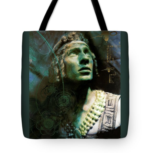 Adolph Bolm Colorized Tote Bag by Robert G Kernodle