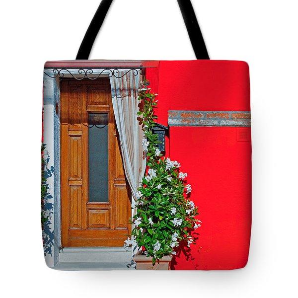 A-door-ned Tote Bag